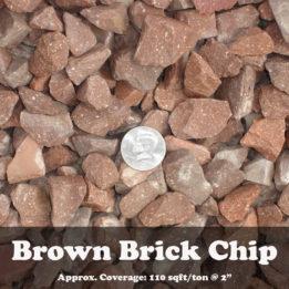 Brown Brick Chip, Elkhorn Rock, Omaha Rock, Rock