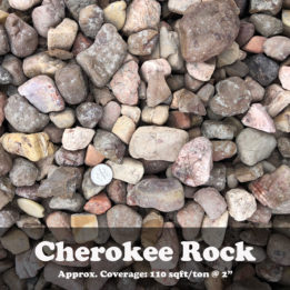 Cherokee Rock, ground cover, landscaping, Red, omaha, elkhorn, multicolor, decorative
