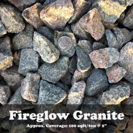 Fireglow Granite, ground cover, landscaping, omaha, elkhorn, multicolor, decorative