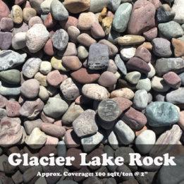 Glacier lake rock, ground cover, landscaping, omaha, elkhorn, multicolor, decorative