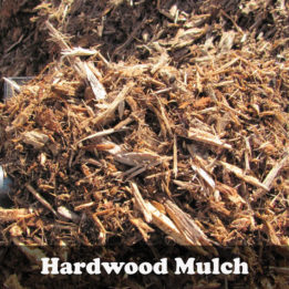 Natural Hardwood Mulch-Omaha-Elkhorn-Mulch-Shredded-Light Brown-landscape