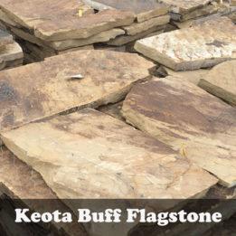 Keota Buff-Flagstone-Black Hills-patio-Omaha-Elkhorn-Stepping Stones-Natural