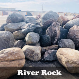 River Rock Boulder, Boulder, Glacier, Rock, Landscaping, multicolor, decorative