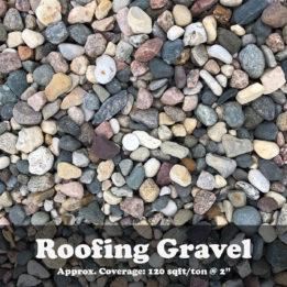 Roofing Gravel, gravel, omaha rock, elkhorn rock, landscaping
