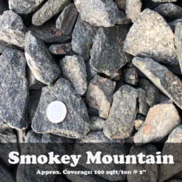 smokey mountain, black rock, elkhorn rock, omaha rock, rock, landscaping rock