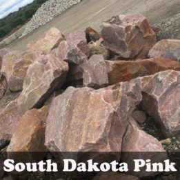 South Dakota Pink Boulders, Boulders, Omaha, Pink, elkhorn, decorative, multicolor, landscaping, unique