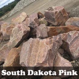 South Dakota Pink Boulders, Boulders, Omaha, Pink, elkhorn, decorative, multicolor, landscaping, unique