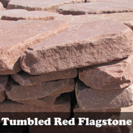 Tumbled Red Flagstone-Omaha-Elkhorn-Patio-Stepping Stones