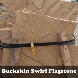 Buckskin Swirl Flagstone-Tan-Brown-Omaha-Elkhorn-NE-Natural-Stone-Stepping-Pathway-Patio