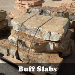 Buff Slab-Omaha-Elkhorn-NE-Natural-Steps-Irregular-Thick