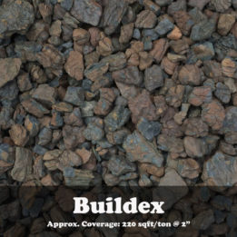 Buildex, Brown, shale, ground cover, landscaping, omaha, elkhorn, dark, decorative