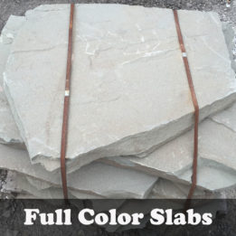 Full Color Slab-Multi Color-Omaha-Elkhorn-NE-Natural-Steps-Irregular-Thick