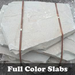 Full Color Slab-Multi Color-Omaha-Elkhorn-NE-Natural-Steps-Irregular-Thick