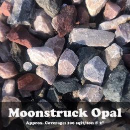 Moonstruck Opal, Elkhorn, Omaha, Rock, Multicolor, Pink, Red, Decorative