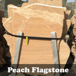 Peach Flagstone-Omaha-Elkhorn-NE-Natural-Stone-Stepping-Pathway-Patio