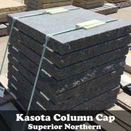 Kasota-Column-Caps-Pillar-omaha-elkhorn-granite-black-cut