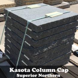 Kasota-Column-Caps-Pillar-omaha-elkhorn-granite-black-cut